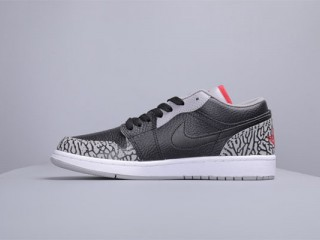 Air Jordan 1 Low AJ1低帮黑爆裂纹价格是多少钱?