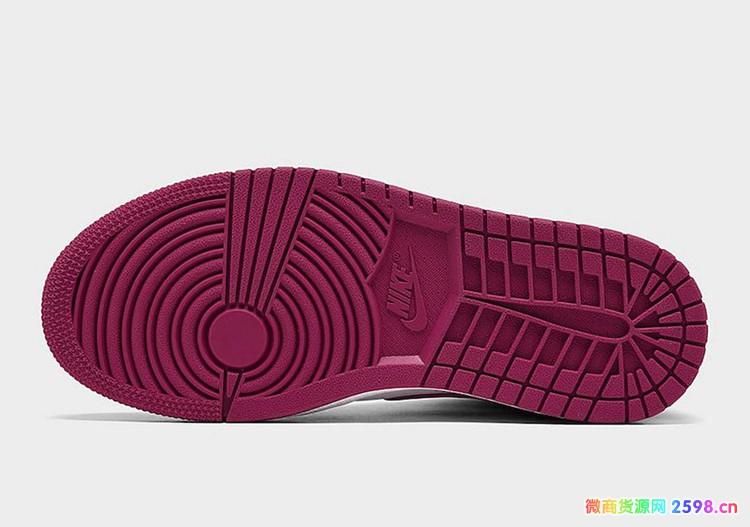 Air Jordan 1 Mid AJ1新黑粉