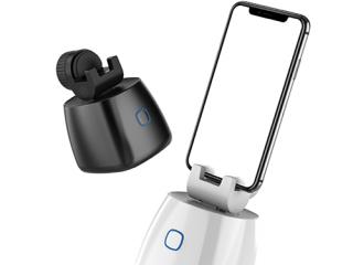 华沁手机智能跟拍云台人脸识别防抖动手机支架直播拍摄神器